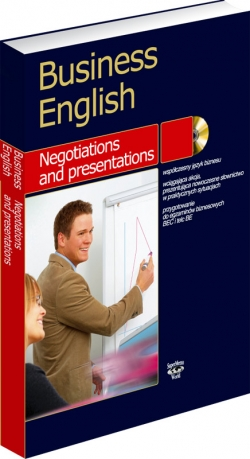 Business English. Negotiations and presentations – książka i MP3